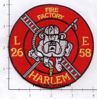 New York City Engine  58 Ladder 26 Fire Patch v11