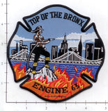 New York City Engine  63 Fire Dept Patch v11