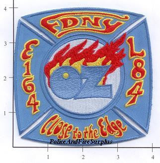 New York City Engine 164 Ladder 84 Fire Patch v6