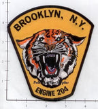 New York City Engine 204 Fire Patch v4