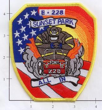 New York City Engine 228 Fire Patch v6 All In