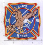 New York City Engine 234 Ladder 123 Fire Dept Patch v4