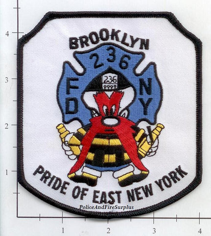 New York City Engine 236 Fire Dept Patch v8