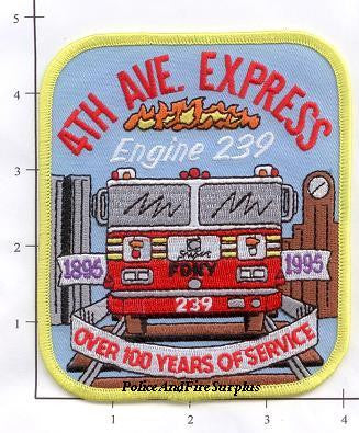 New York City Engine 239 Fire Patch v3