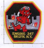 New York City Engine 247 Fire Patch v6 Hot Stuff