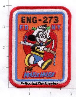 New York City Engine 273 Fire Patch v3 Mouse House