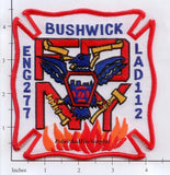 New York City Engine 277 Ladder 112 Fire Patch v14 RWB