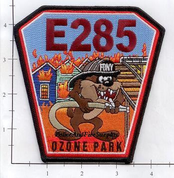 New York City Engine 285 Fire Patch v1