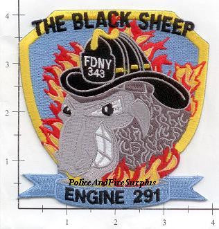 New York City Engine 291 Fire Dept Patch v4 343