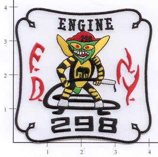 New York City Engine 298 Fire Patch v2