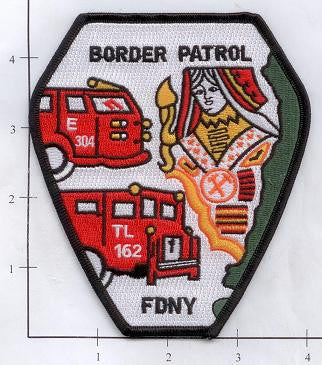 New York City Engine 304 Ladder 162 Fire Patch v3
