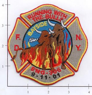 New York City Engine 306 Fire Patch v5 9-11-01