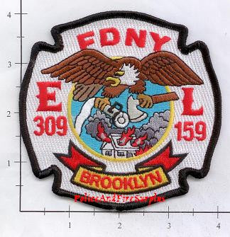 New York City Engine 309 Ladder 159 Fire Patch v6