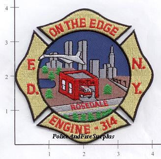 New York City Engine 314 Fire Patch v2