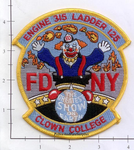 New York City Engine 315 Ladder 125 Fire Patch v8