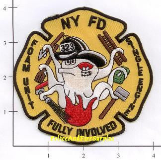 New York City Engine 323 Fire Dept Patch v3