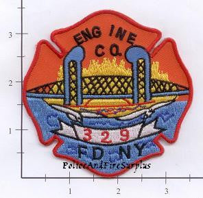New York City Engine 329 Fire Patch v2