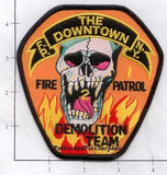 New York City Fire Patrol 2 Fire Patch v6 Skull