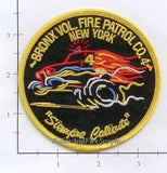 New York City Bronx Volunteer Fire Patrol Co 4 Fire Dept Patch v2