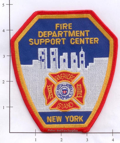 New York City Governor's Island Support Center Fire Patch v1