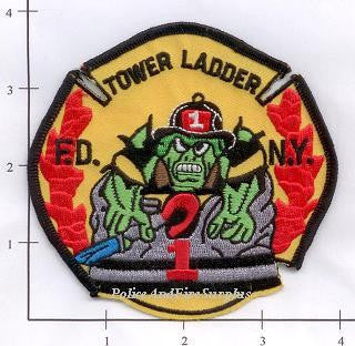 New York City Ladder   1 Fire Dept Patch v3