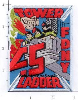 New York City Ladder  45 Fire Patch v5