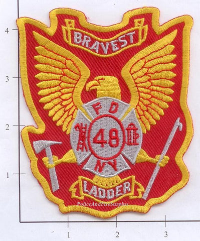 New York City Ladder  48 Fire Patch v3