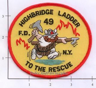 New York City Ladder  49 Fire Patch v1