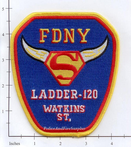 New York City Ladder 120 Fire Patch v16 Superman