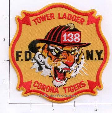 New York City Ladder 138 Fire Patch v3
