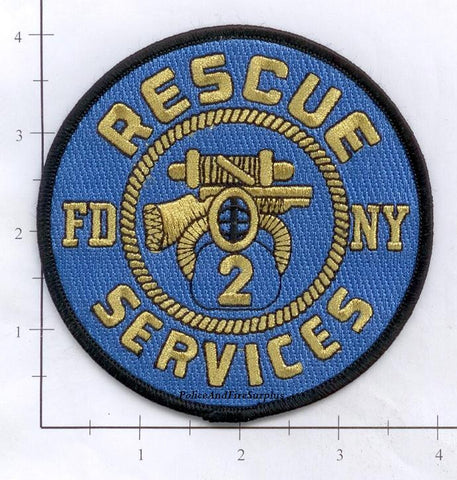 New York City Rescue 2 Fire Dept Patch v17 Services
