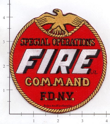 New York City Special Operations Command Fire Patch v21 Round