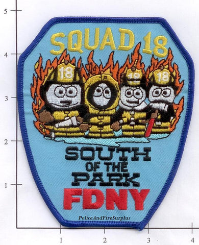 New York City Squad  18 Fire Patch v1 South Park