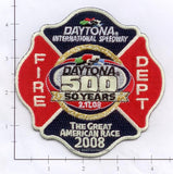 Florida - Daytona International Speedway Fire Dept Patch v2