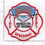 Florida - Daytona International Speedway Fire Dept Patch v3