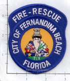Florida - Fernandina Beach Fire Dept Patch