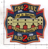 Florida - Fort Lauderdale Engine  2 Rescue 2 Fire Dept Patch