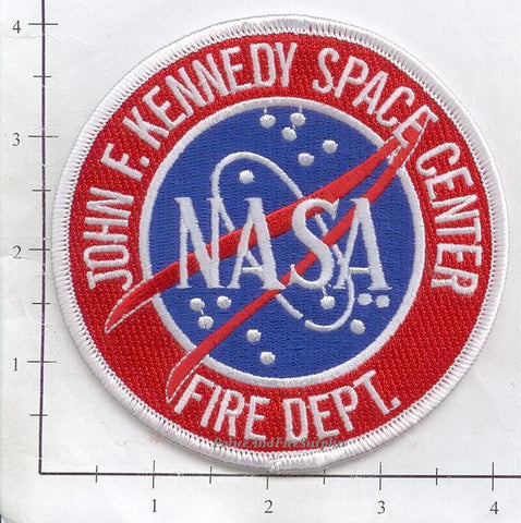 Florida - John F Kennedy Space Center Fire Dept Patch v2