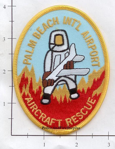 Florida - Palm Beach International Airport Aircraft Rescue Patch