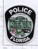 Florida - Parker Police Dept Patch