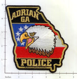 Georgia - Adrian Police Dept Patch