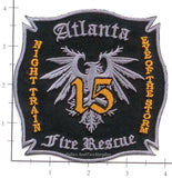 Georgia - Atlanta Station 15 Fire Dept Patch