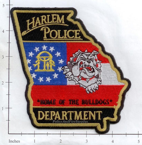 Georgia - Harlem Police Dept Patch v1