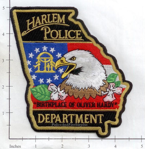 Georgia - Harlem Police Dept Patch v2