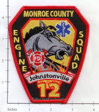 Georgia - Monroe County Johnstonville Station 12 Fire Dept Patch