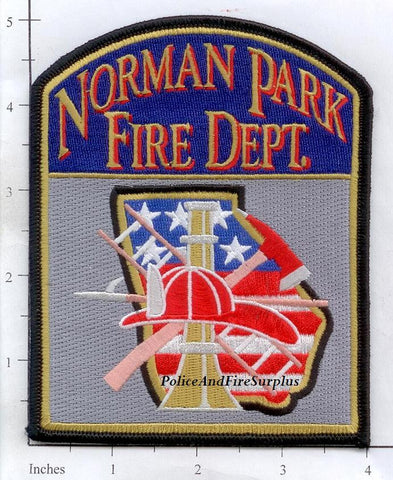 Georgia - Norman Park Fire Dept Patch