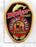 Hawaii - Baywatch Training Center Life Guard Fire Rescue Patch