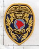Hawaii - Hawaii County Police Dept Patch v1