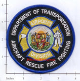 Hawaii - Hawaiian Dept Of Transportation Airports Division Fire Dept Patch