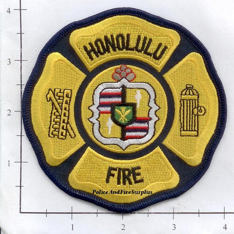 Hawaii - Honolulu Fire Dept Patch v2